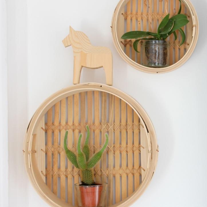 DIY etageres en paniers vapeur - DIY bamboo steamers 1