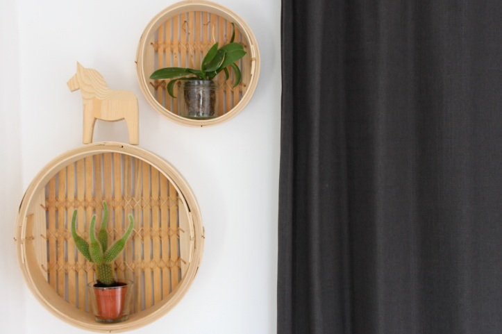 DIY etageres en paniers vapeur - DIY bamboo steamers 2