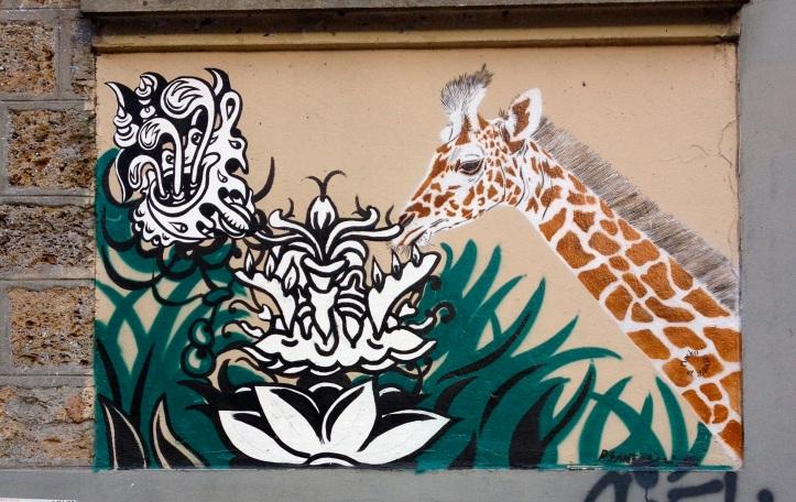 Girafe Mosko et associes, Paul Santoleri ecole maternelle Jourdain 1