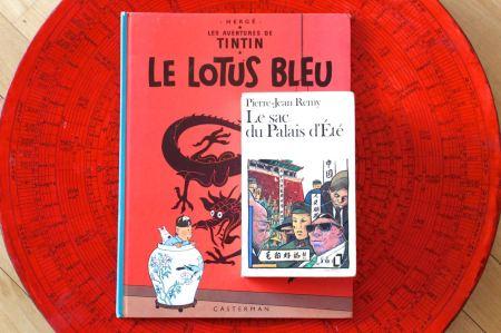 Livres Chine Lotus Bleu Sac du Palais d'ete1