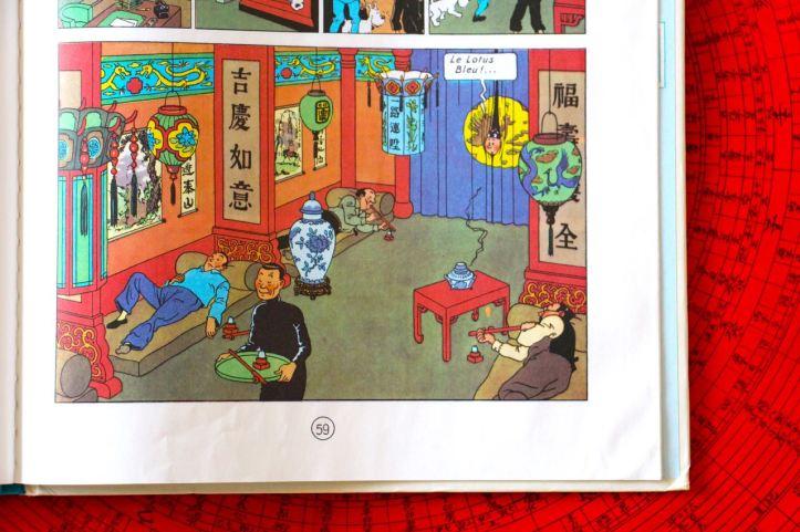 Livres Chine Lotus Bleu Sac du Palais d'ete3