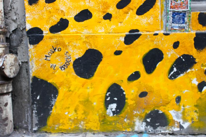 Street art Mosko et associes rue la Condamine Paris 1