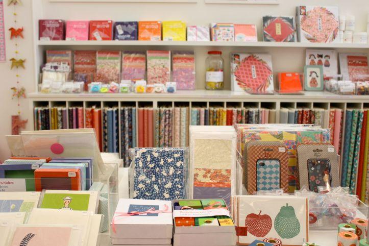 Boutique papier japonais Adeline Klam Creations Paris 9