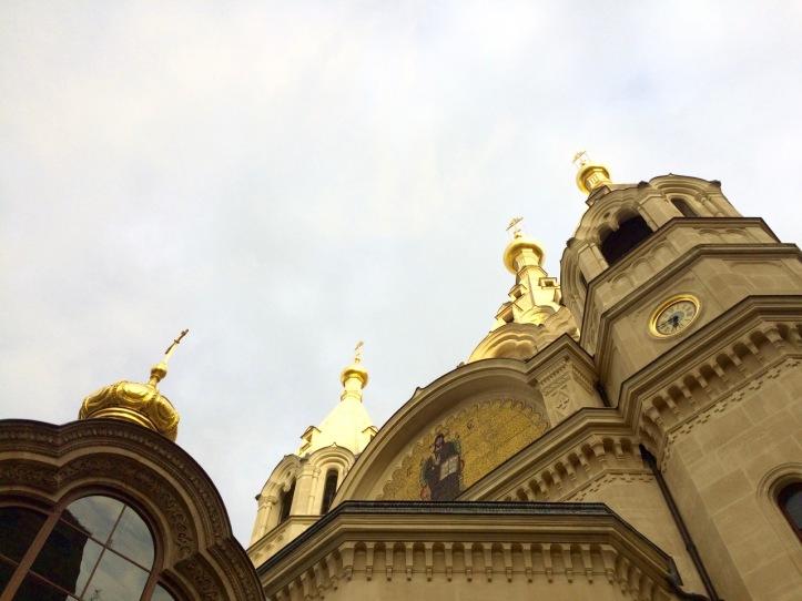 Eglise russe Alexander Nevsky rue Daru Paris - 1
