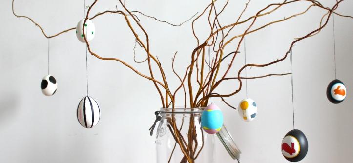 DIY arbre de Pâques