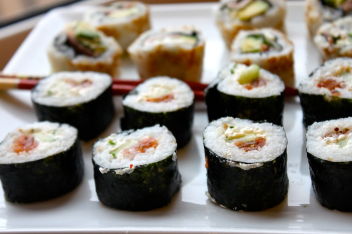 Recette de makis et sushis 7
