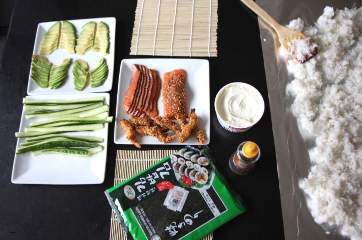 sushis et makis - 1