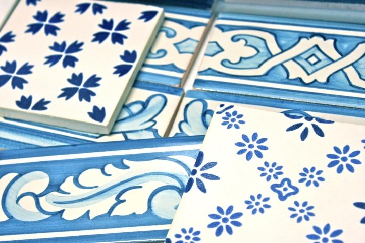 Azulejos bleus