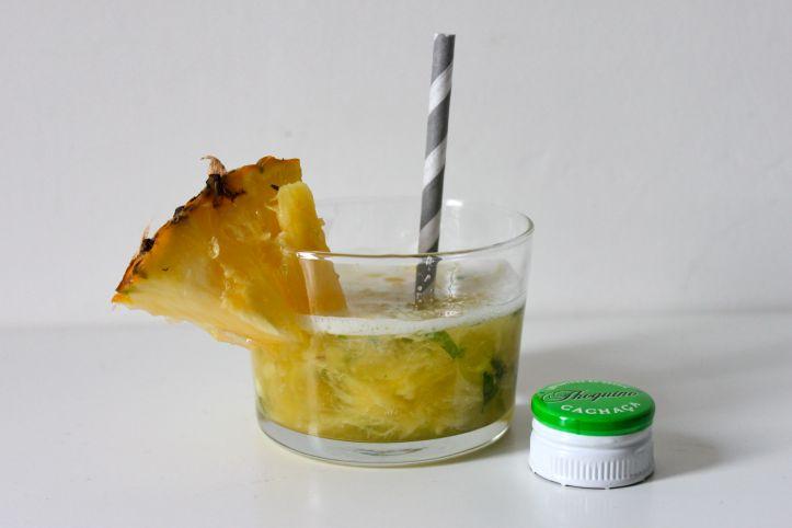 Recette caipirinha caipifruta ananas basilic 3
