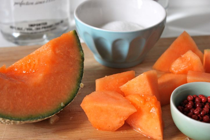 Recette caipirinha caipifruta melon baies roses 2