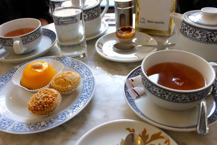 Tea time à la Pastelaria Belem