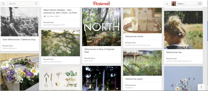 Pinterest Midsommar Dreams