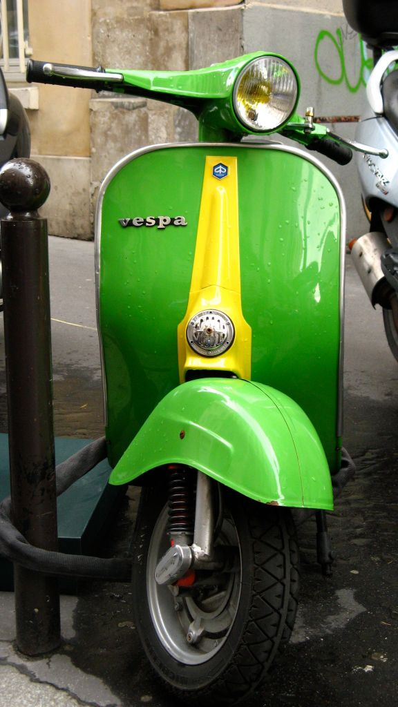 Vespas de Paris