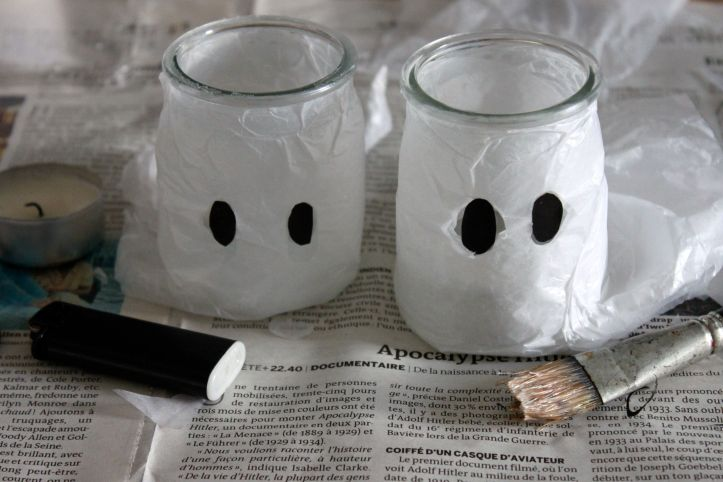 DIY photophores fantômes