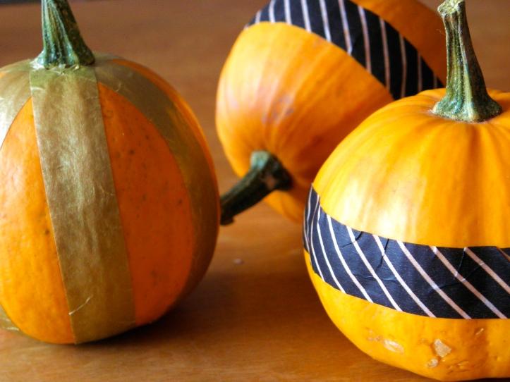 Decorated pumpkinsA