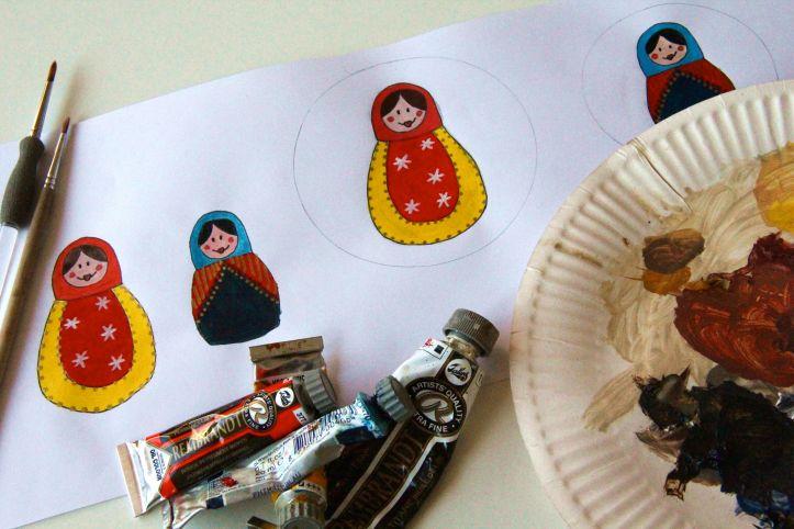 DIY Boules de Noël Poupées Russes06