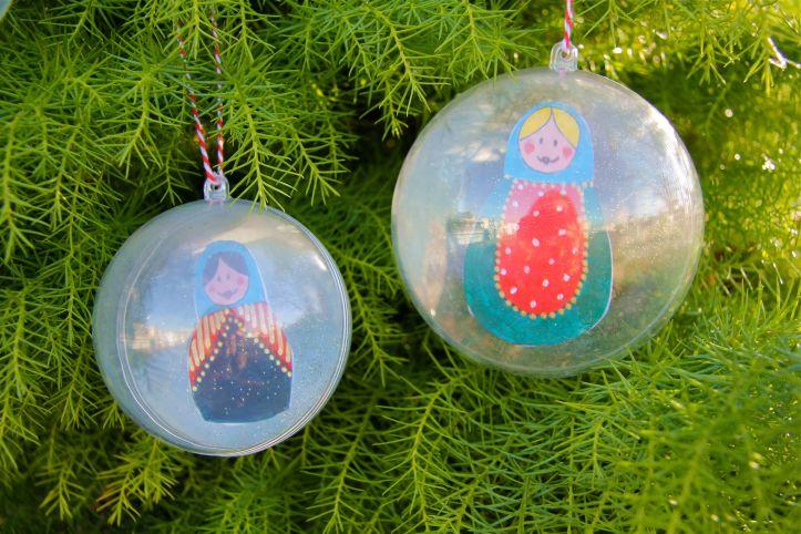 DIY-Boules de Noël Poupées Russes1