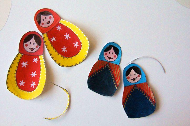 DIY Boules de Noël Poupées Russes11