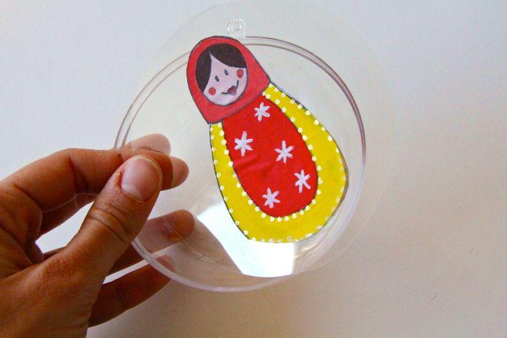 DIY Boules de Noël Poupées Russes15