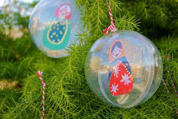 DIY:Boules de Noël Poupées Russes4