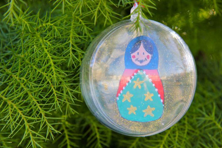 DIY:Boules de Noël Poupées Russes5