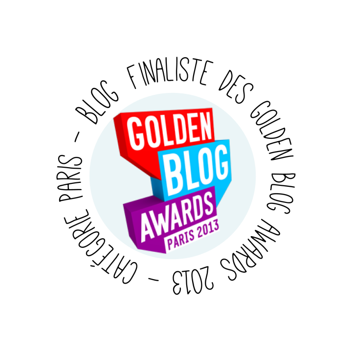 En finale des Golden Blog Awards 2013