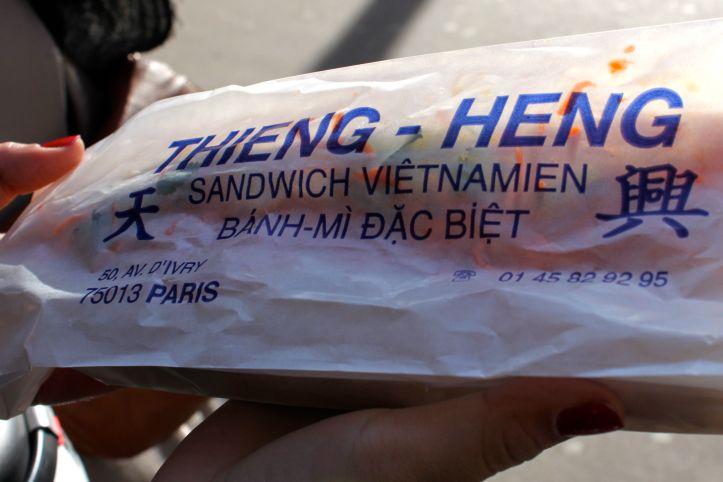 Banh mi - Thieng Heng - Avenue d'Ivry - Paris 2