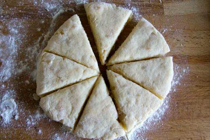 Recette ginger scones - scones au gingembre 03