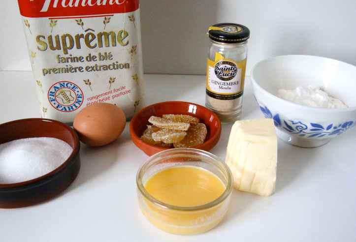 Recette ginger scones - scones au gingembre 06