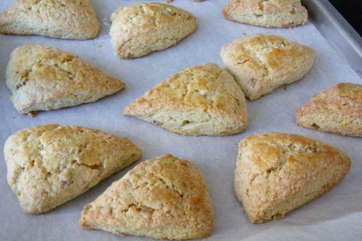 Recette ginger scones - scones au gingembre 07