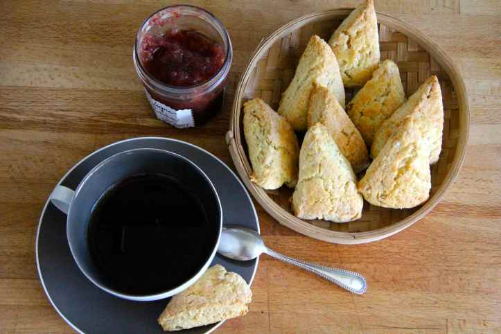 Recette ginger scones - scones au gingembre 08