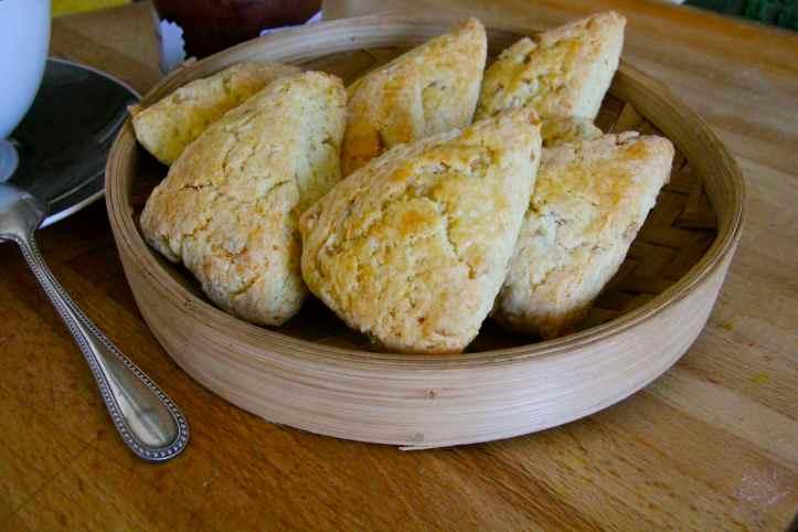 Recette ginger scones - scones au gingembre 09