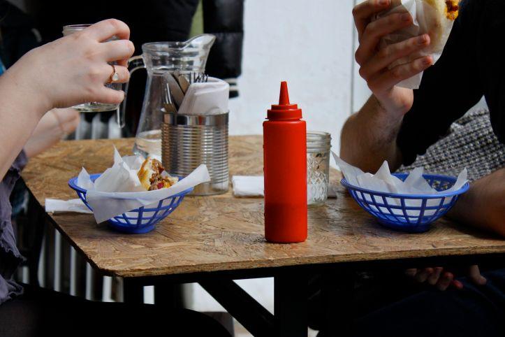 Bululu arepera - restaurant venezuelien Paris - arepas 14