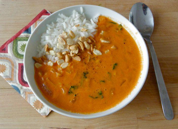 recette soupe ouest africaine aux cacahuetes