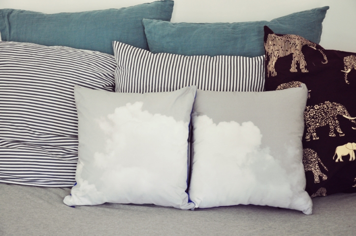 Small Couture coussins nuages