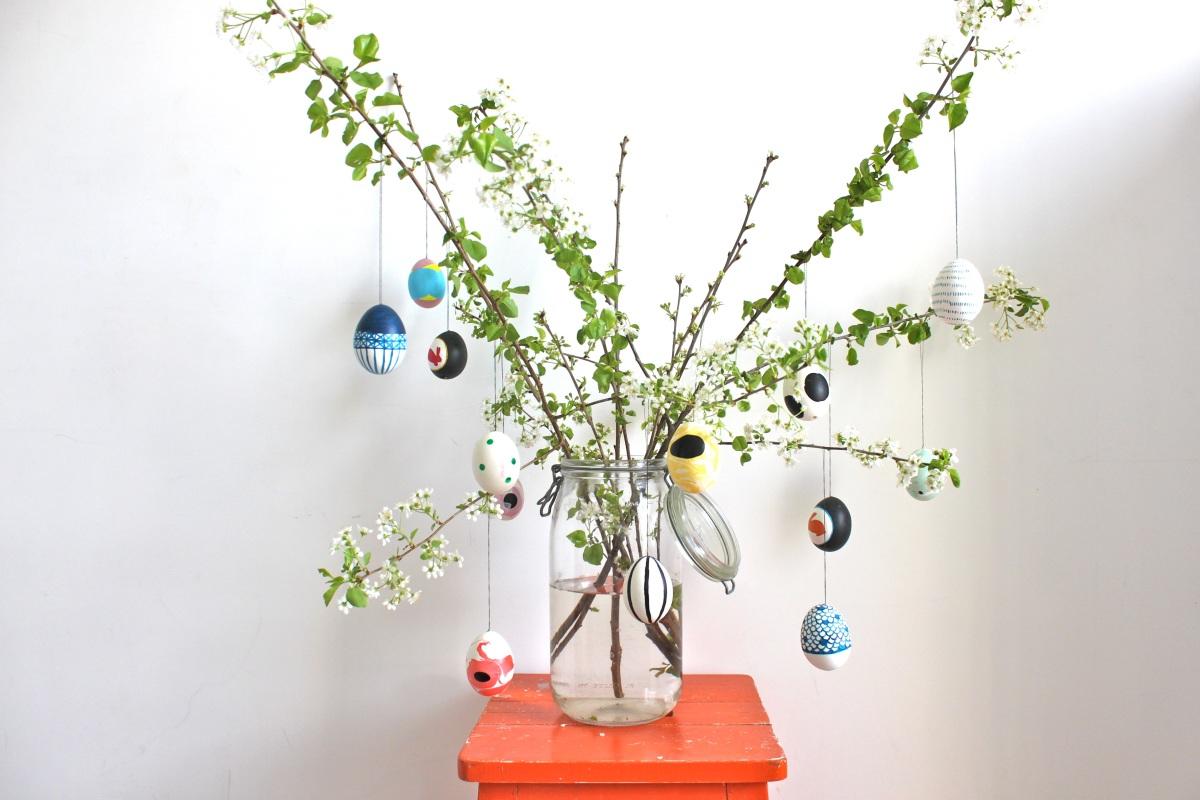 diy notre arbre de p ques 2014 so many paris. Black Bedroom Furniture Sets. Home Design Ideas