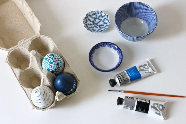 DIY oeufs de Paques - motifs japonais 1