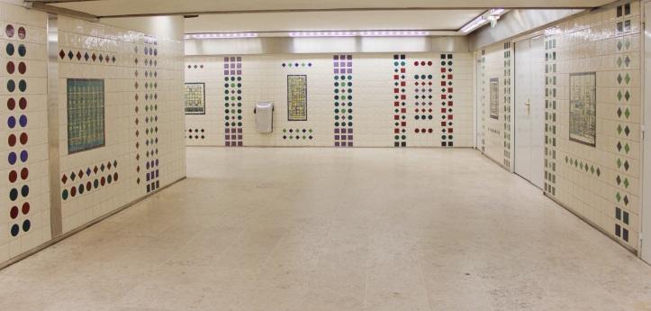 Paris lisbonne des azulejos dans le m tro parisien - Faience metro parisien ...