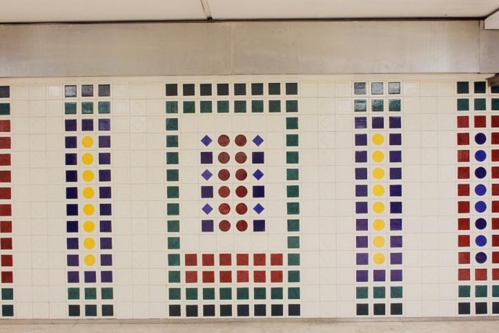 Fresque azulejos Cargaleiro metro Champs-Elysees Clemenceau 6