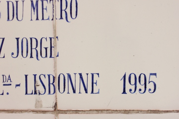 Fresque azulejos Cargaleiro metro Champs-Elysees Clemenceau 9
