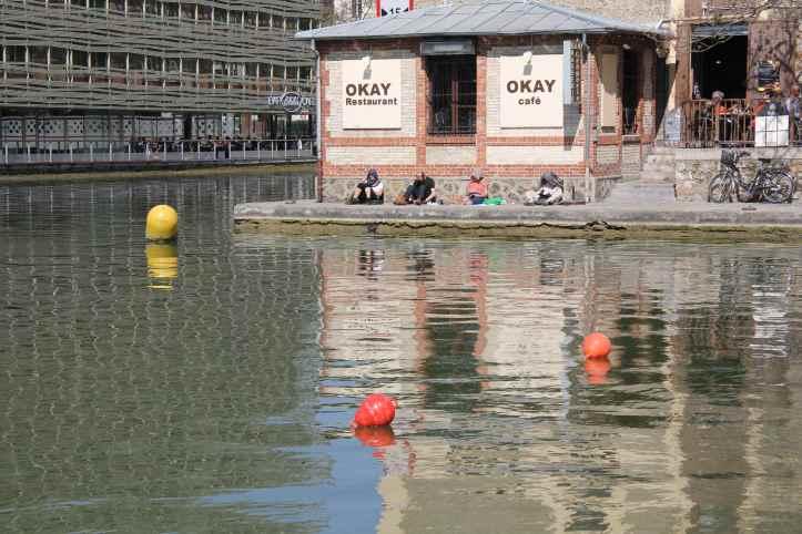 Le bassin de la Villette - Paris 1