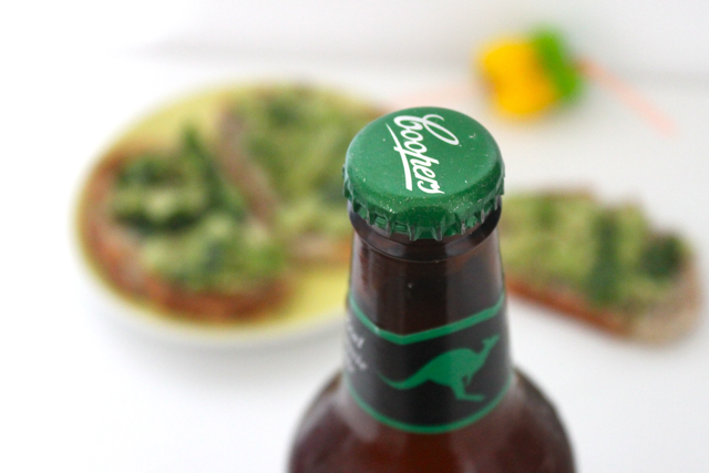 Apero australien - avocado toasts et Coopers Beer  3