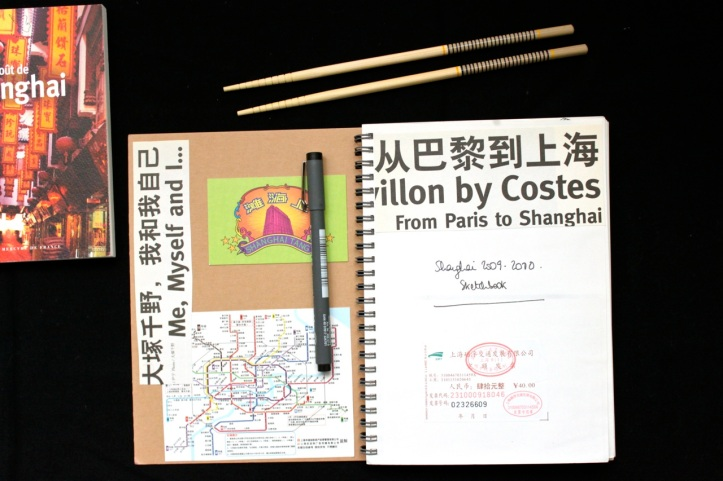 Carnets de voyage - Shanghai 1