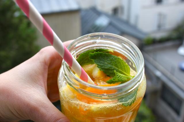 Recette limonade aux fruits comme a Budapest 7