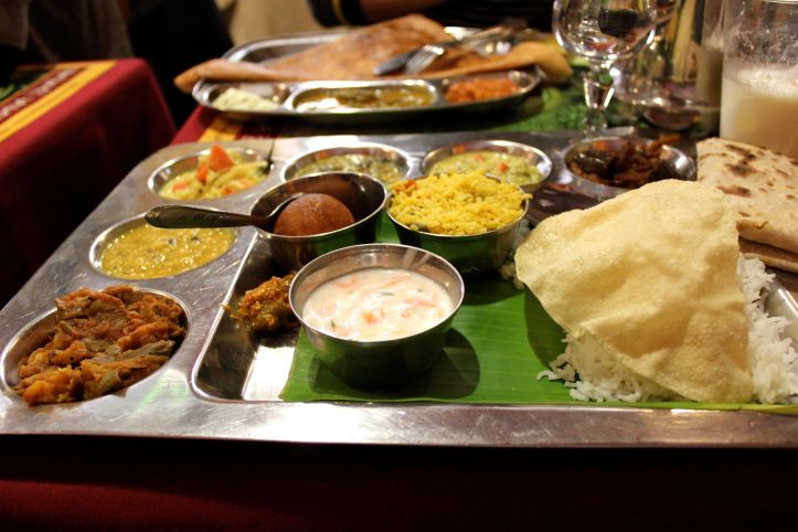Restaurant indien végétarien Krishna Bavan - 24 rue Cail - Paris 2