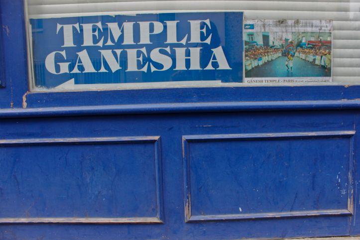 Temple de Ganesh - 17 rue Pajol - Paris 1
