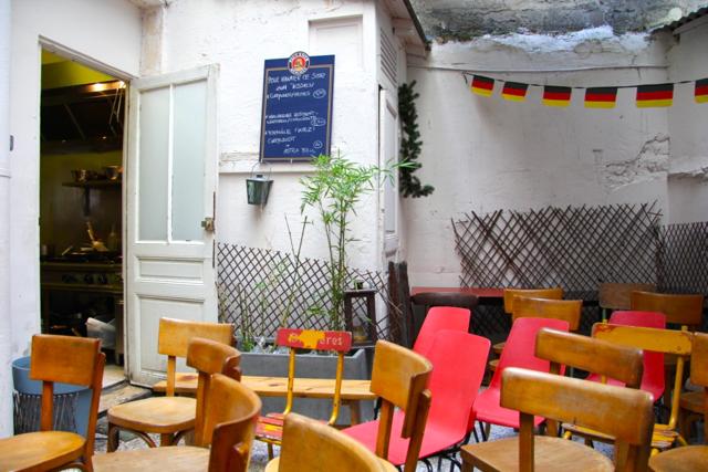Kiez Biergarten allemand Paris 18 4
