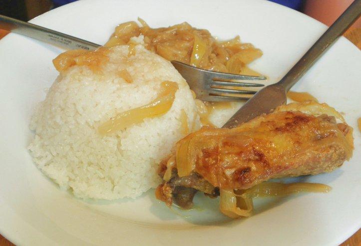 Yassa poulet - Petit Dakar