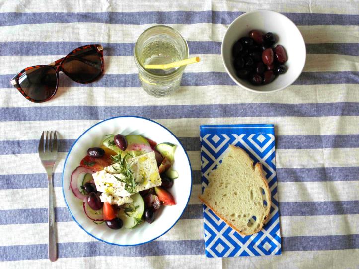 Recette de salade grecque ou Khoriatiki 2
