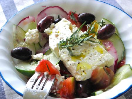 Recette de salade grecque ou Khoriatiki  4